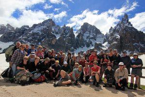 Trekking v Dolomitech u Pale di San Martino