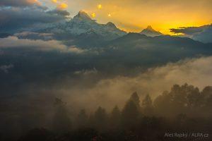 Nepál - trekking annapurna, poonhill, ghandruk, machapuchare
