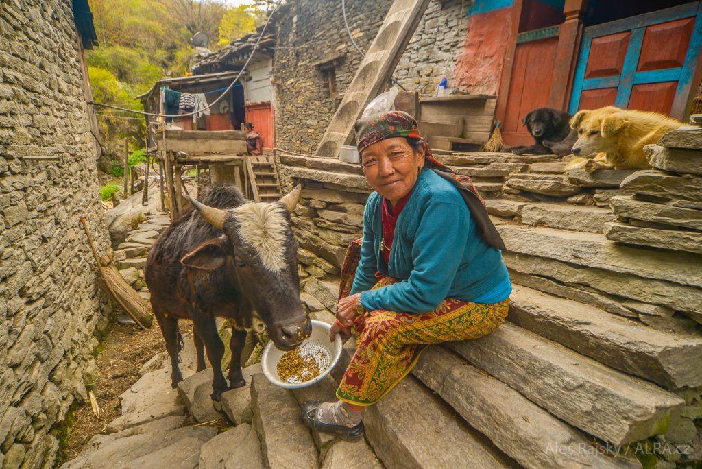 trek kolem Annapurny, zájezd do Nepálu, Nilgiri, Marsyangdi Nadi